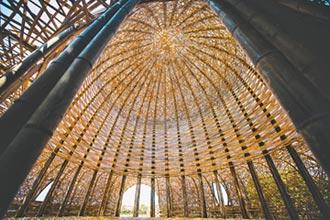 桃園地景藝術節構竹未來城市想像