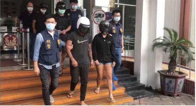 警方將涉嫌暴力討債的6名男女嫌犯,訊後依殺人未遂、妨害自由及傷害等罪嫌移送法辦。(警方提供/林雅惠高雄傳真)