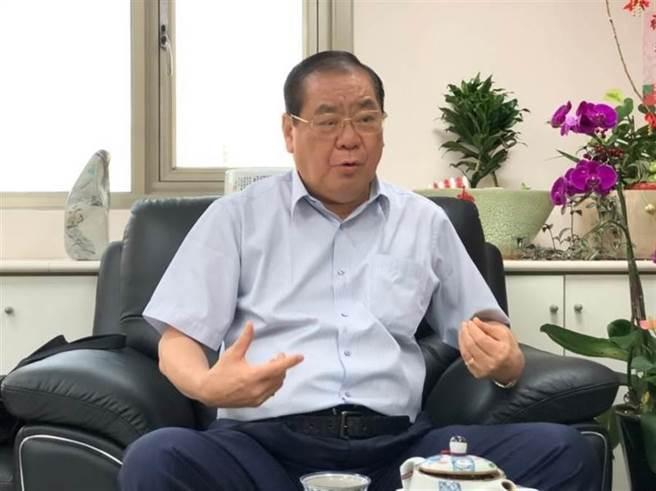 世盟中華民國總會理事長曾永權。(圖/世盟提供)