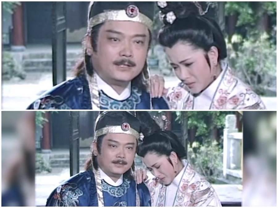 邱于庭在《包青天之鴛鴦蝴蝶夢》劇中,與張復健的演出很有火花。(摘自網路)