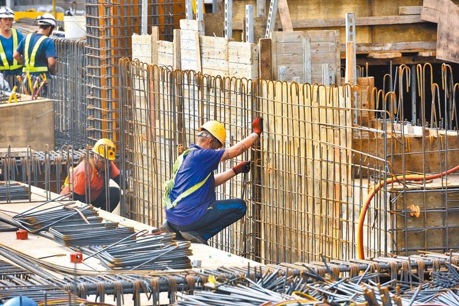 職安署統計,去年職災死亡316人中,營造業就多達168人、占總數逾一半,平均2.17天,就有1人因職災死亡。(本報資料照片)