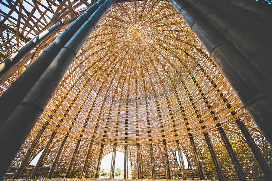 2020桃園地景藝術節以竹子打造出國際級藝術作品。