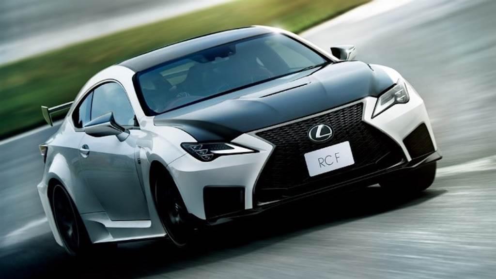 N 平台再度強化提升操控,Lexus RC/RC F 日規新年式發表