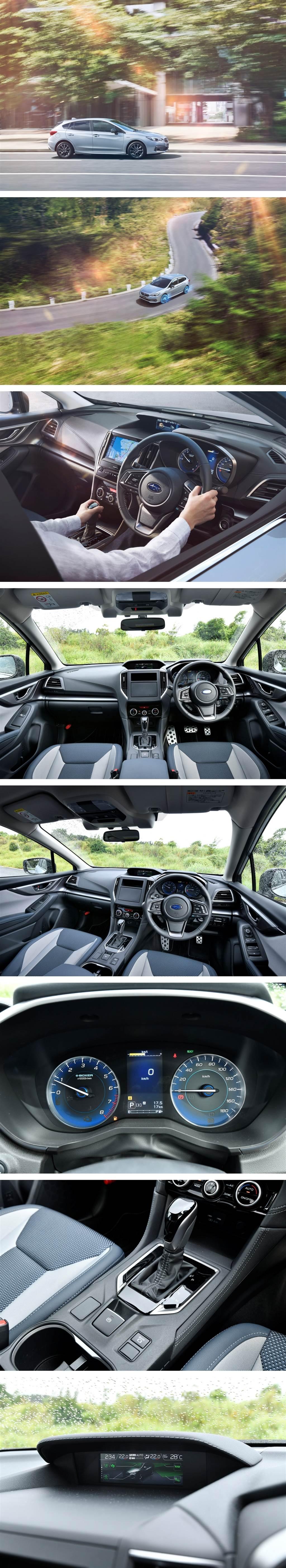 Subaru Impreza Sport 新年式變更、導入 e-BOXER 輕度混合動力與 STI SPORT 羽量級運動