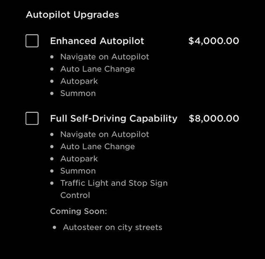 只要 FSD 一半價格!特斯拉 EAP 增強型加購包上架,給你 NoA、自動換車道、自動停車、召喚等四大功能