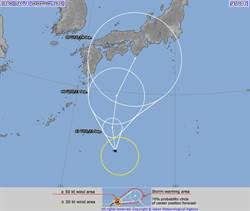 12號颱風生成 專家:「白海豚」會轉彎 路徑曝光