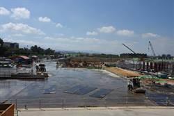 台積電竹南設廠進度30% 種上千株喬木景觀綠美化