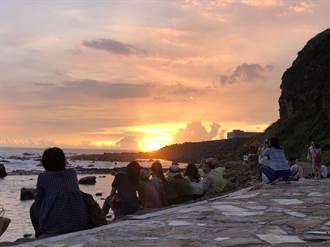 天微亮許下守護誓言!和平島公園向海致敬 清出高達302公斤垃圾