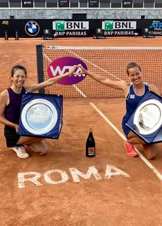 羅馬網球賽》世界第一的驕傲 謝淑薇女雙28冠到手