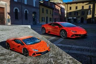 Lamborghini推出Huracán EVO獨特「3D拼圖」模型車