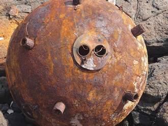虛驚一場!鋤頭島水雷證實二戰遺彈 國防部:擇期現地爆燬