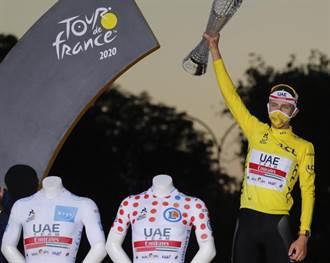 環法自由車賽-普加卡黃袍加身 創賽史116年來最年輕奪冠紀錄