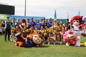 第5屆桃園盃活力開打 9名女球員成為賽事一大「嬌點」