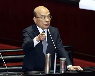 蘇揆下令 各部會首長除重大事務外 應親自出席立院講清楚重大政策