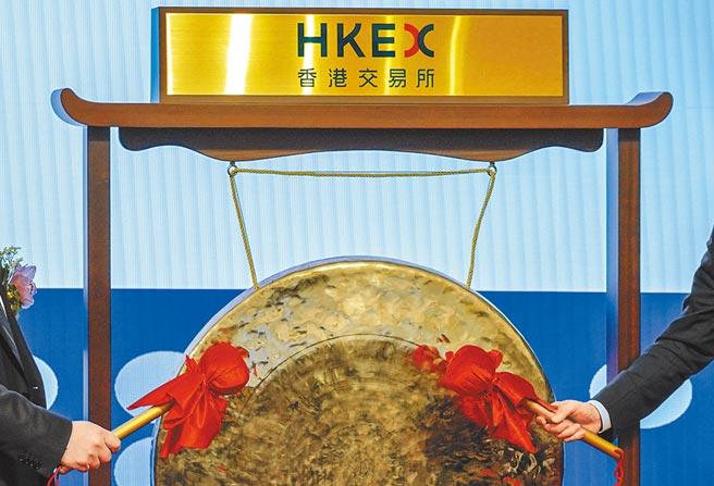 8月19日,香港交易所公布2020年中期業績,IPO方面,列全球第三(928億港元)。  (中新社)