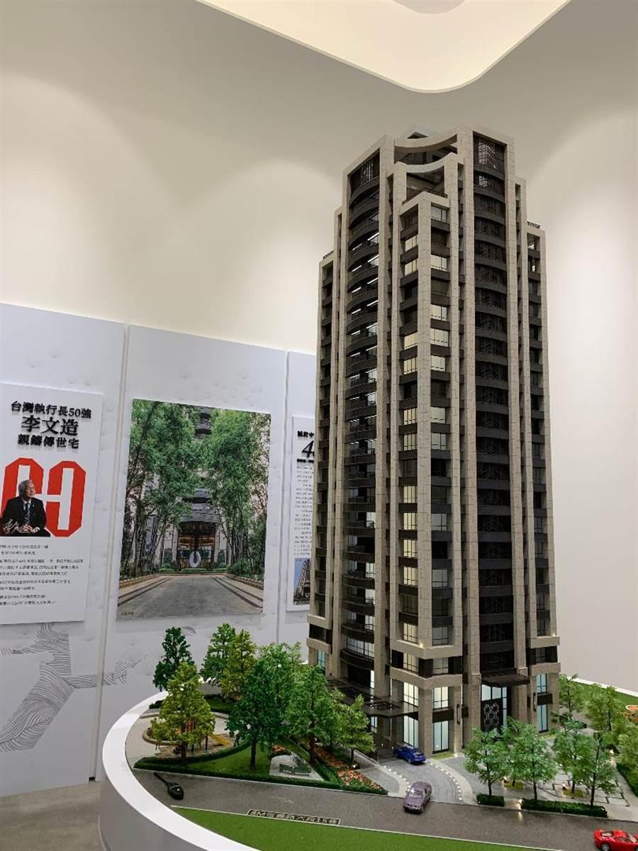 (圖為長虹建設位於台北市的指標都更案。圖/蔡惠芳)