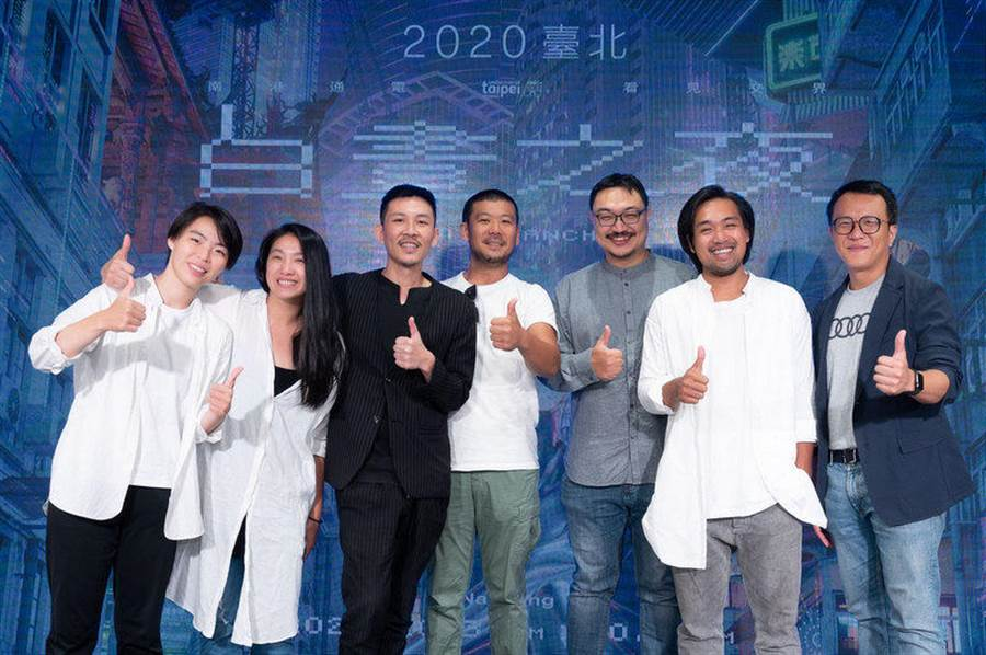 Audi e-tron 與 2020 白晝之夜共創藝術作品,10/3 現身南港 呈現未來的生活藝術