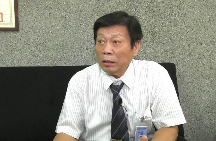 台灣知名法醫高大成(圖/邱子軒拍攝)