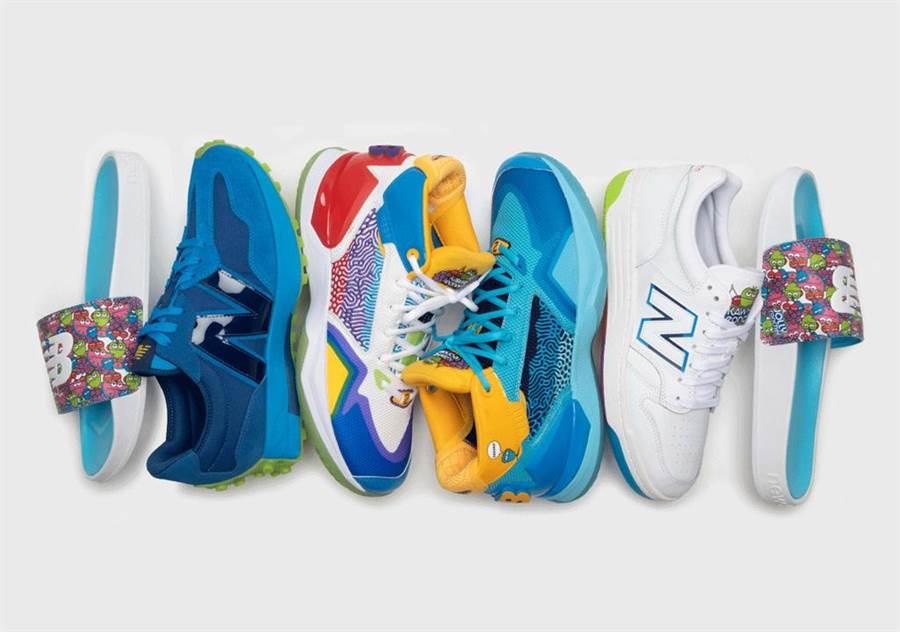 包含籃球鞋、復古鞋、低筒鞋與運動拖鞋等各式鞋履(圖 / nicekicks)