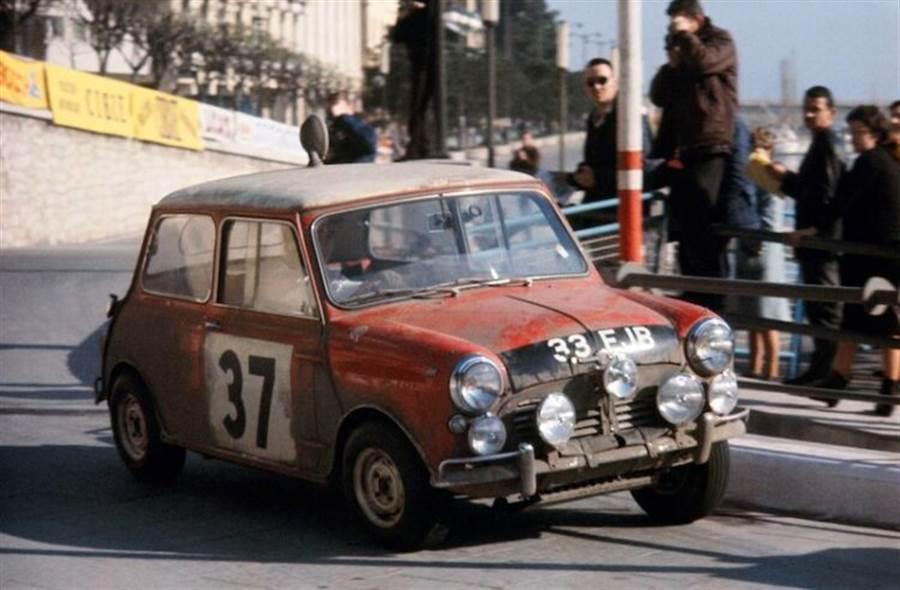 37號重回起跑線!MINI推出Paddy Hopkirk Edition特仕車款