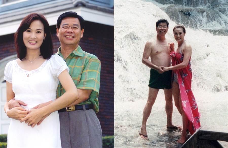 王筱嬋和已婚的鄭余鎮愛得滿城風雨。(圖/中時資料照)