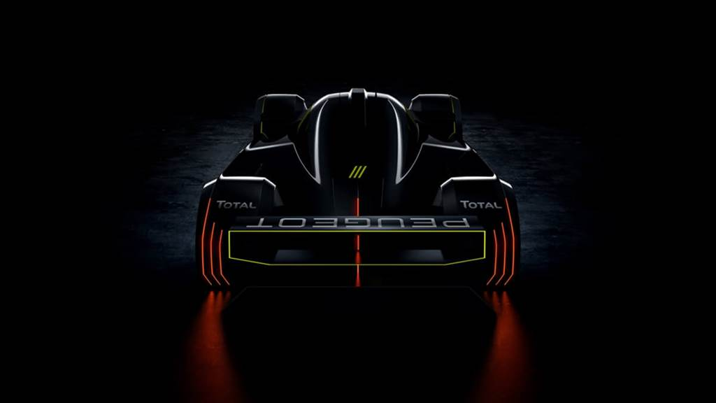 Peugeot與TOTAL合作開發利曼超級跑車