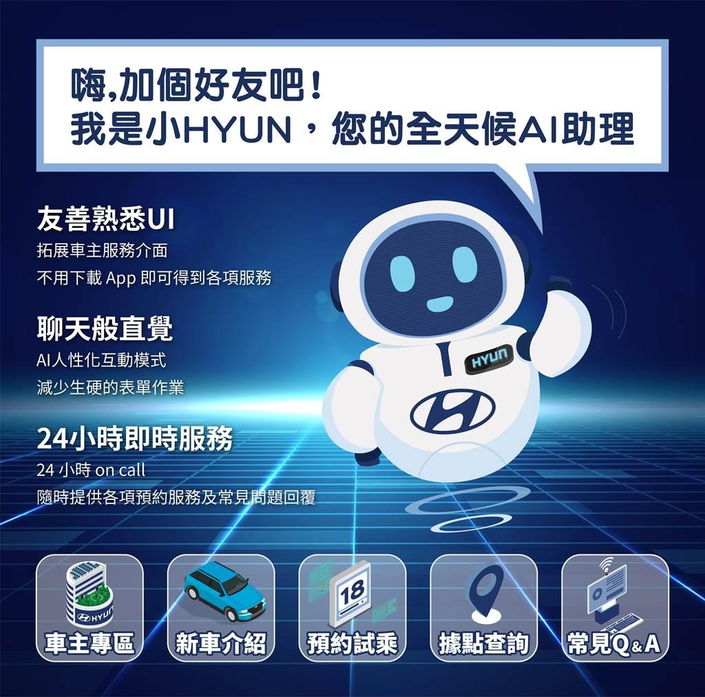 加入HYUNDAI官方好友,回廠享滿兩千送兩百,資訊即時便利又快捷。