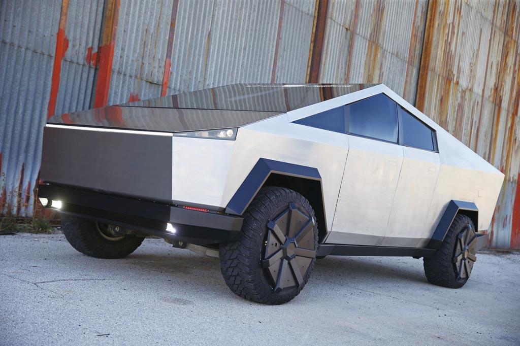 九家汽車製造商2025年前將推出電動皮卡車,特斯拉Cybertruck將面臨極大壓力。圖/路透