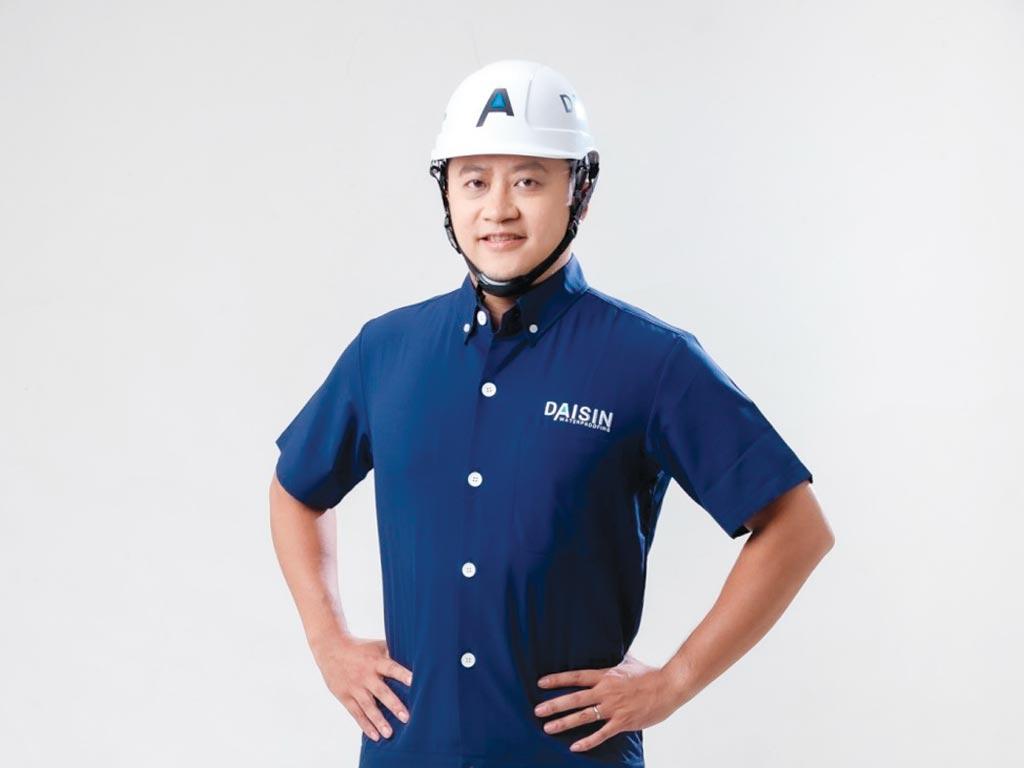 大信防水總經理康永昕在防水業界被稱為「防水專家接班人」。圖/大信防水提供