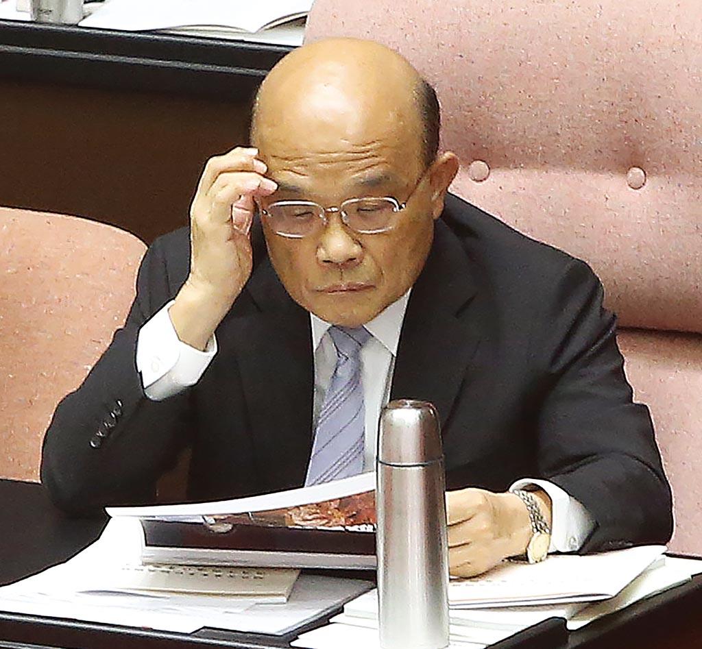 立法院決優先審查「紓困3.0」,本周五將邀請行政院長蘇貞昌至立院報告紓困3.0特別預算。(本報資料照片)