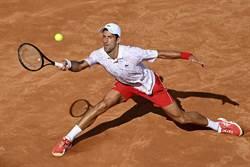 羅馬網球賽》喬帥五度封王 世界第一周數史上第二長