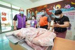 綠委蔡易餘號召同仁合體減60公斤 等重豬肉送社福機構