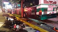 失控公車連環撞 1死1警傷