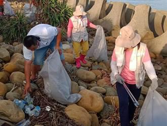 明年再增2隊海岸巡護隊 海管處:漁網占垃圾最大宗