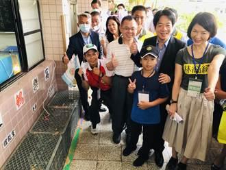 循環農業瑞芳發光 吉慶國小教學童自給自足
