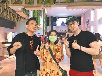 孫安佐賣力勒頸嚇壞導演