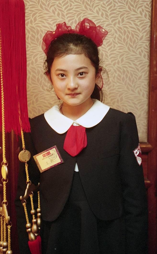 8歲的金銘一演瓊瑤電視劇《婉君》的小婉君就爆紅,成為一代童星代表。(圖/本報系資料照片)