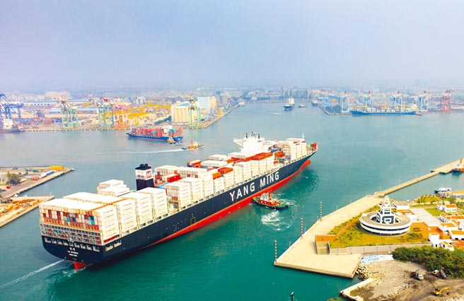 陽明今年貨櫃船運單月最高獲利將落在10月。圖/陽明提供