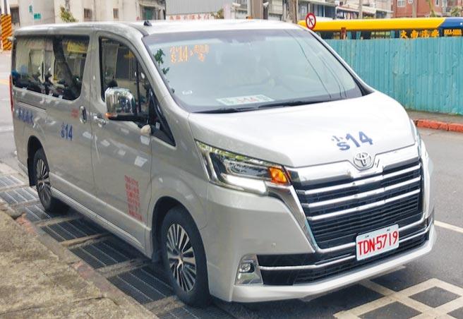 台北市預約公車,2個月來共被預約51班次,但有32班次遭民眾放鳥。圖為小14公車。(台北市議員戴錫欽研究室提供/張立勳台北傳真)