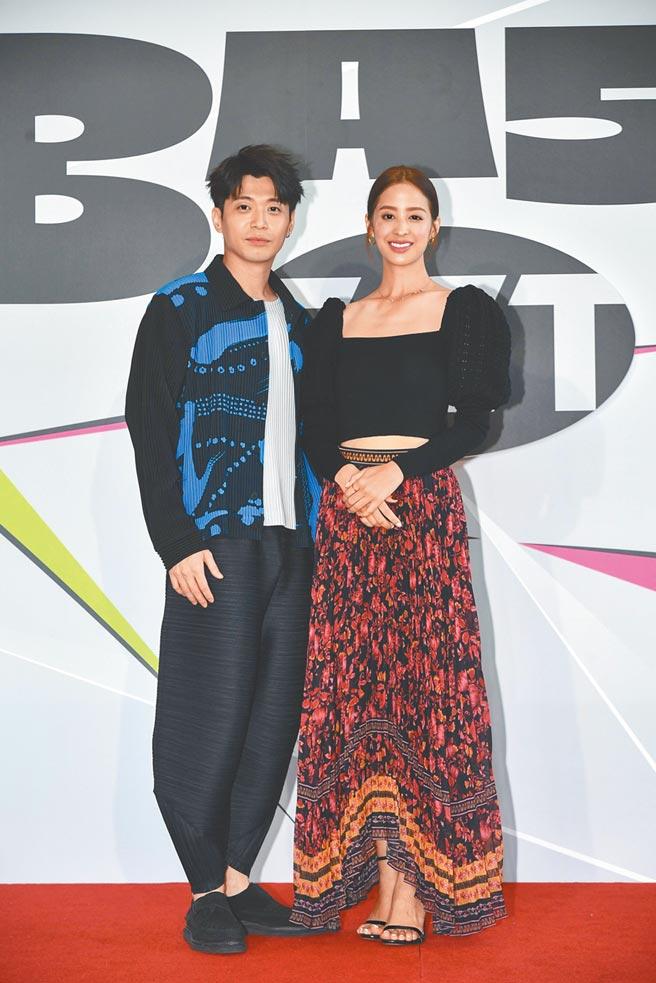 侯彥西(左)和莫允雯都曾面臨演員失業之苦。(三立提供)