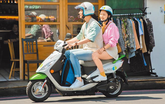 WeMo Scooter「2020消費者騎乘x消費商圈」調查顯示,會員消費模式以吃美食居冠,有高達9成3的消費者,騎WeMo Scooter享受美食。(WeMo Scooter提供)