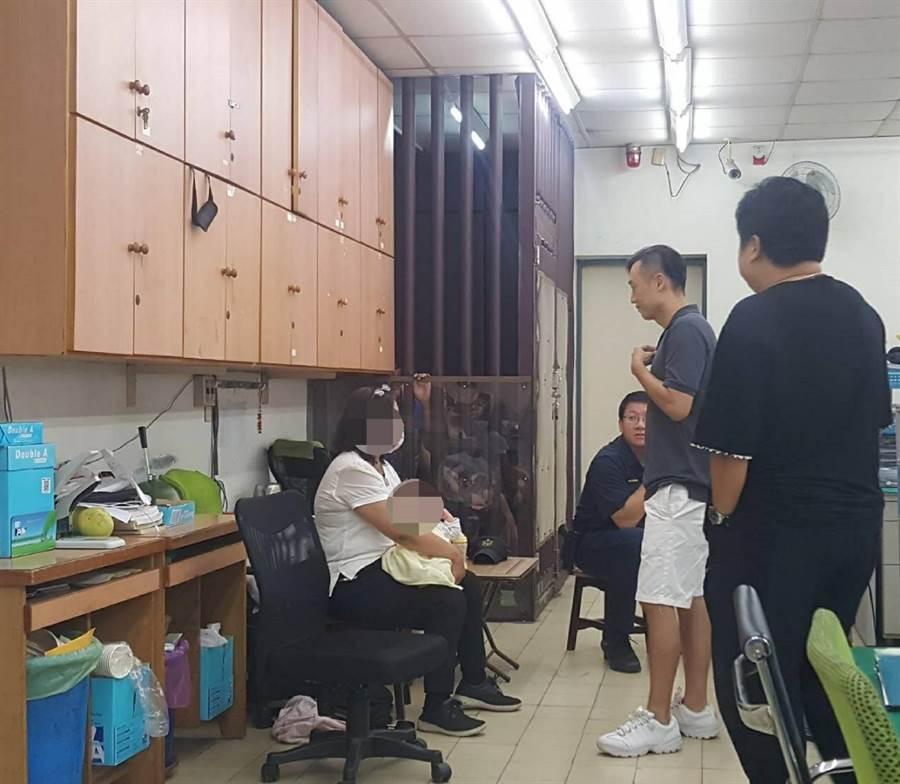 「雲林婦幼保護聯繫平台」即刻救援,1天內尋獲失蹤女嬰。(雲林地檢署提供/張朝欣雲林傳真)