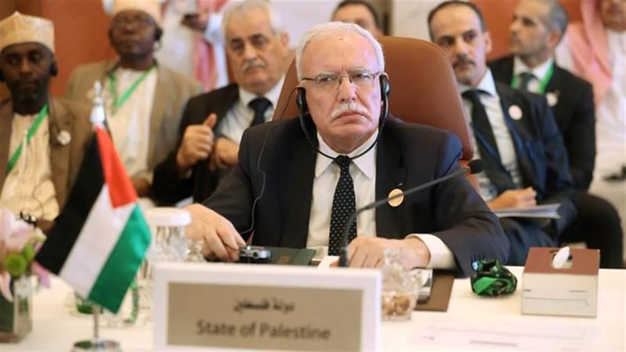 巴勒斯坦外交部長馬利基決定不擔任阿拉伯聯盟輪值主席。(圖/路透社)