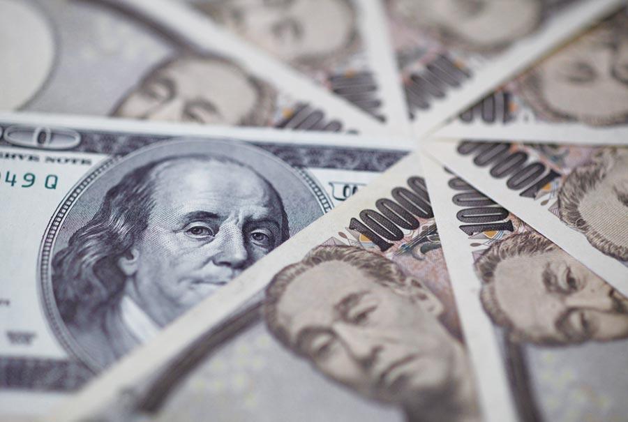 日圓兌美元匯價已連續六個交易日上漲。圖/路透