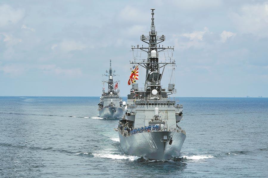 菅義偉內閣決定大幅度增加國防預算,達到1兆5千億台幣。(美聯社)