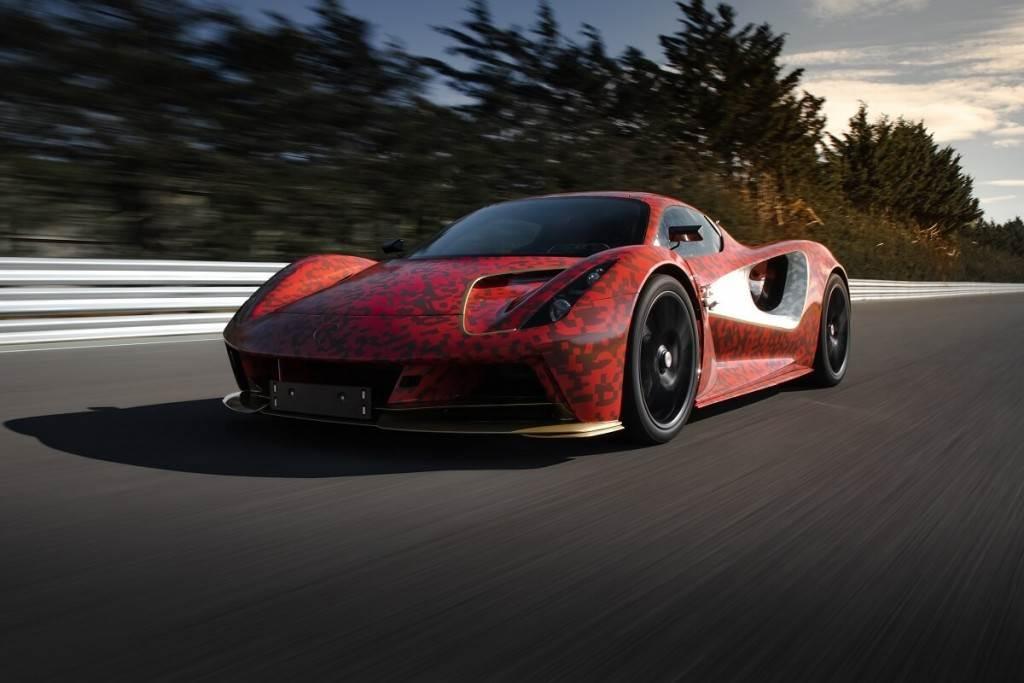 Lotus揭曉電動終極超跑 Evija的駕駛特性