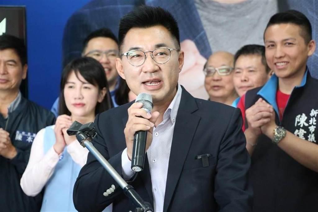 國民黨主席江啟臣。(中時資料照)
