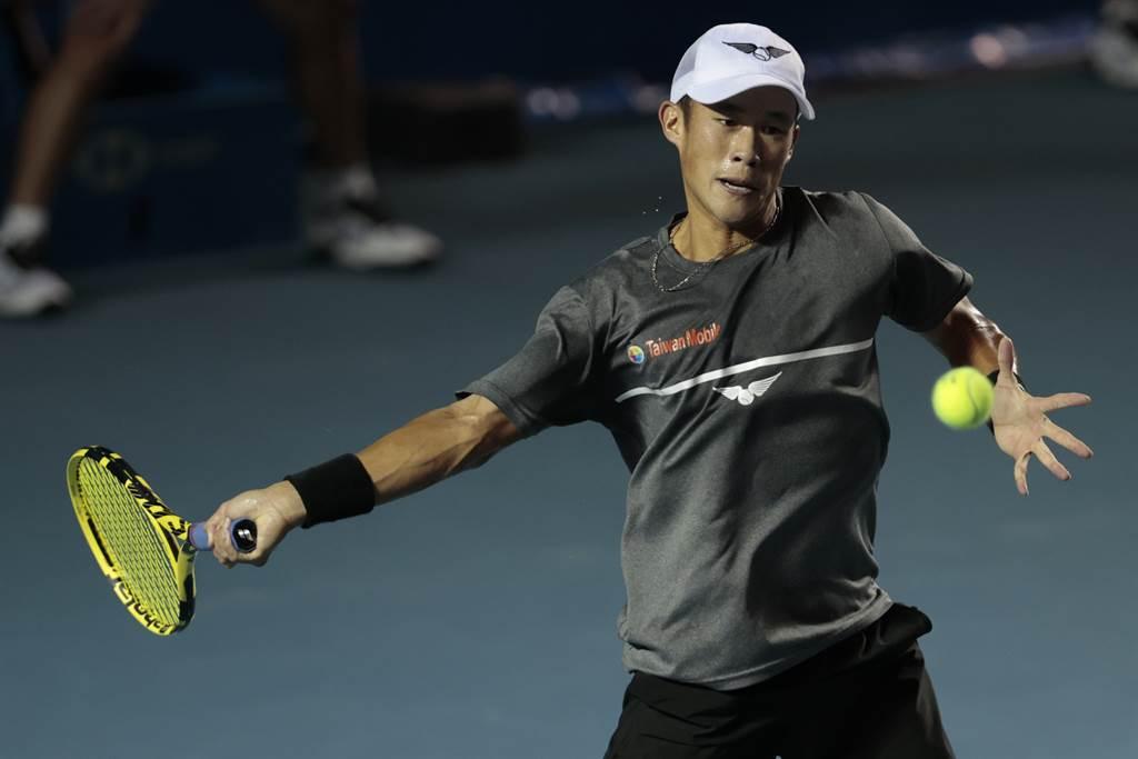 莊吉生在法國網球公開賽會外賽前進到第三輪,再一勝就能進軍會內賽。(資料照/美聯社)