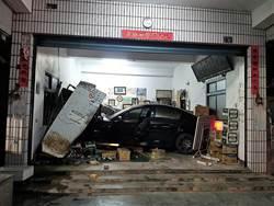 雜貨店內賣車?22歲駕駛酒後駕車衝撞橫躺店內