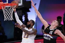 NBA》詹姆斯大三元無用 湖人不敵金塊無法聽牌